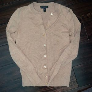Jcrew button up cardigan sz xxs